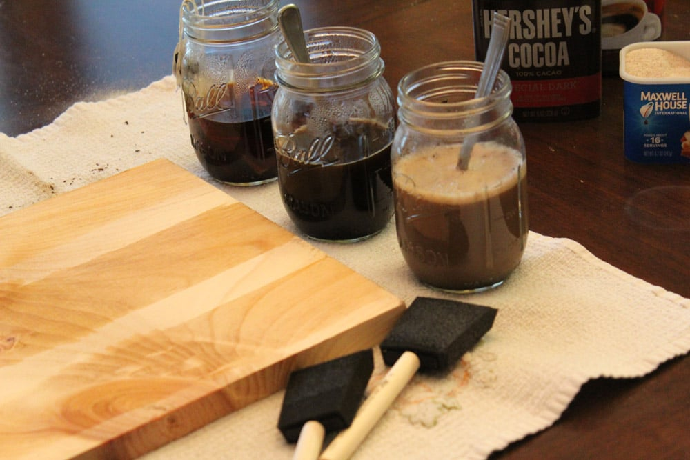 DIY Timber Finish Recipe's